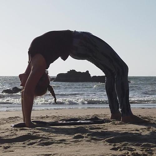 Yoga - Das halbe Rad