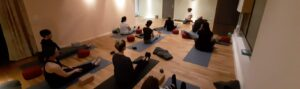 Teilnehmer Yoga-Studio Gossau