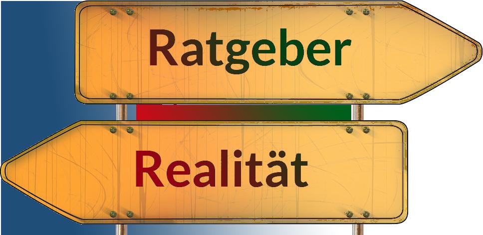 Widersprueche versus Ratgeber