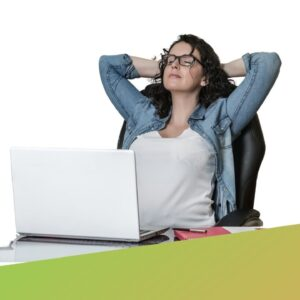 Yoga im Home-Office