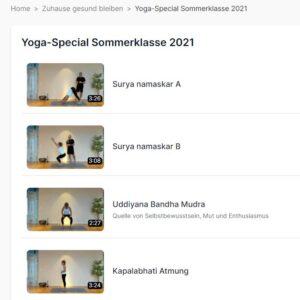Yogagossau Online Detailinstruktionen