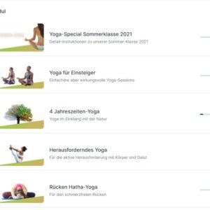 Yogagossau Online Kategorien
